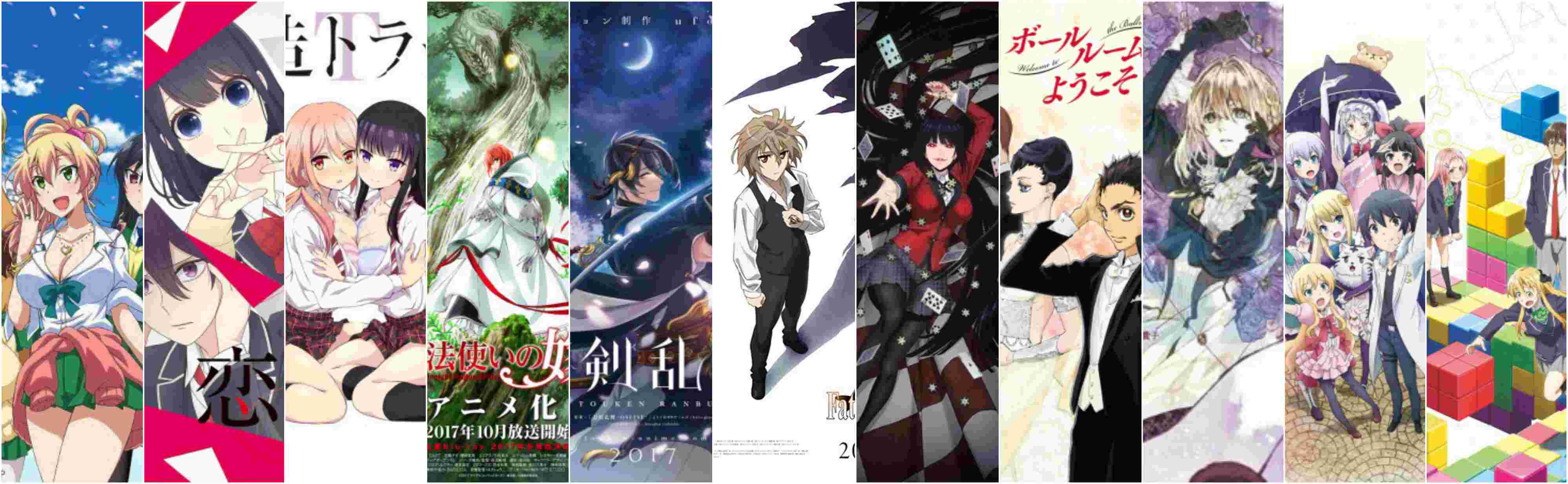 11 most anticipated new anime of summer 2017